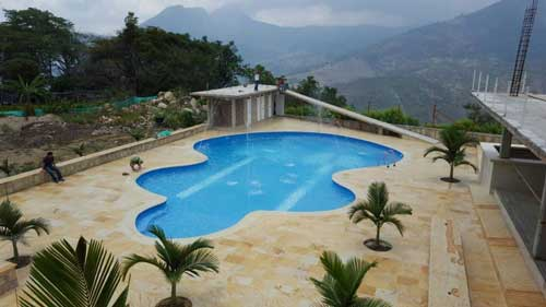 excellent stunning gallery of diseo de piscina chinata colombia with diseo piscinas modernas with diseo de - Piscinas De Diseo